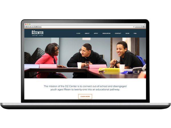 D2 Center Website Design