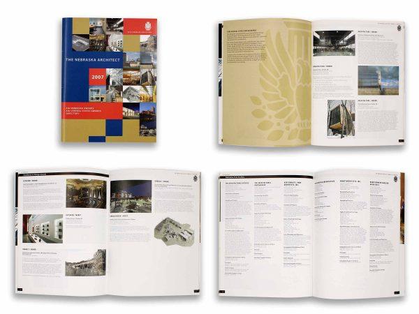 The Nebraska Architect 2007 Guide Eleven19 Graphic Design Omaha Nebraska