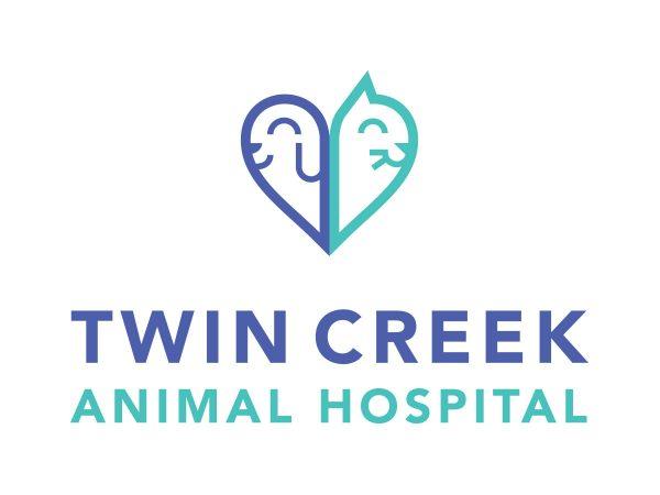 Twin Creek Animal Hospital Logo Design Eleven 19