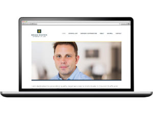 Brian Rhoten Attorney at Law Website