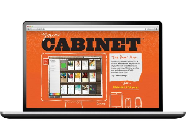 Neenah Cabinet Website Design Eleven19