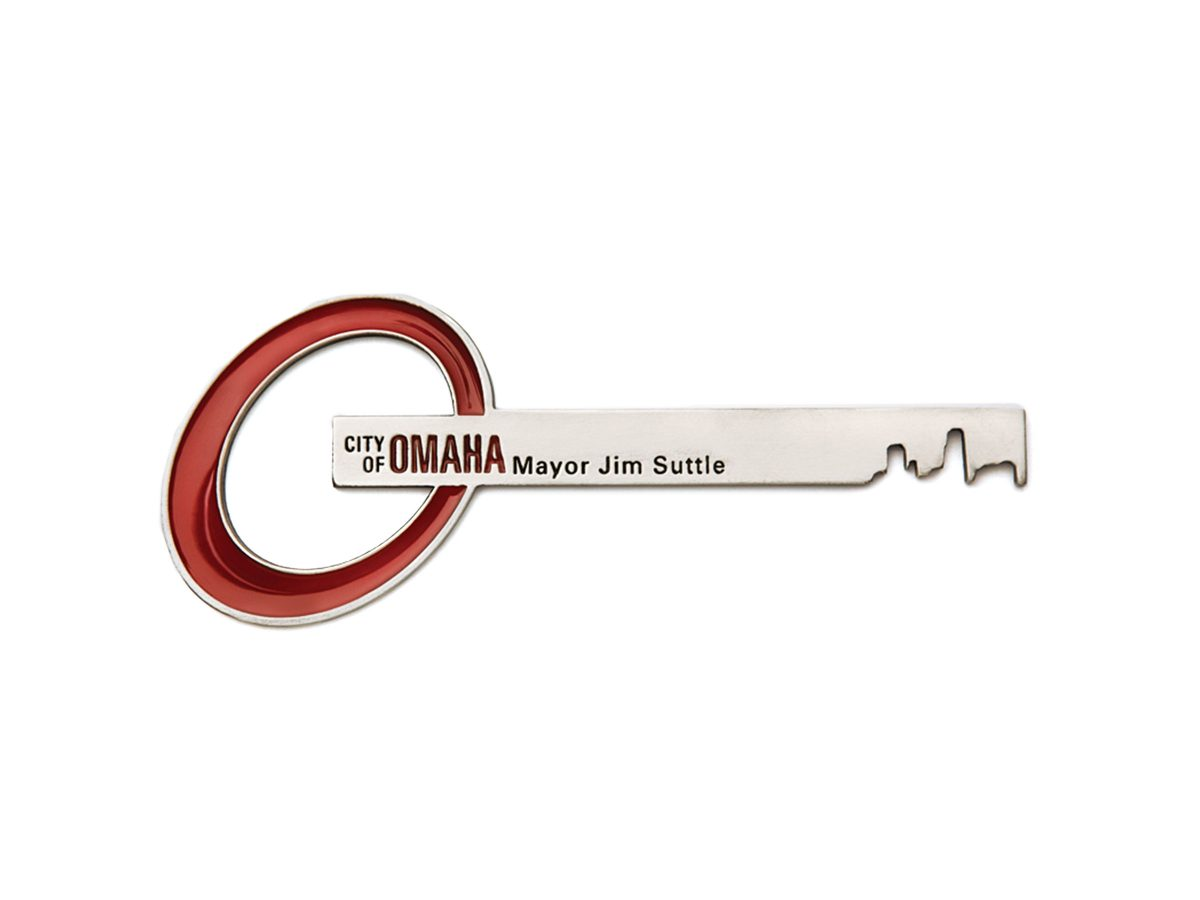 Omaha NE Nebraska Key to the City Eleven19 Graphic Design