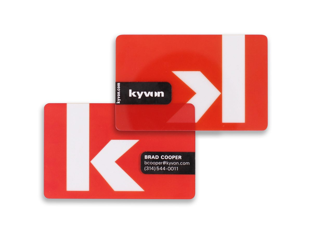 Kyvon Business Cards | Eleven19