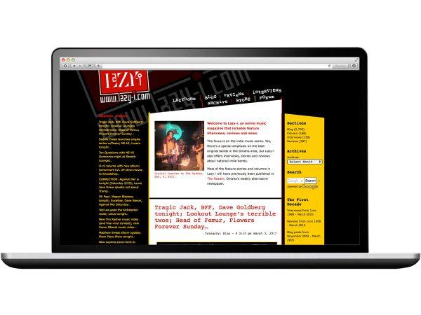 Lazy-I Website Design Eleven19
