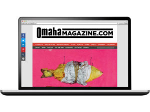 Omaha Magazine Website Design