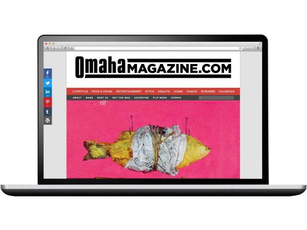 Omaha Magazine Website Design