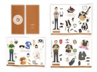 Eleven19 Self Promotion Anniversary Invitation Neenah Paper Paper Dolls