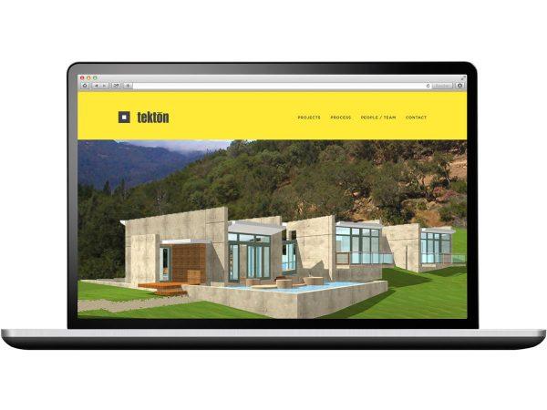 Tekton Architecture Website Design