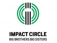 Big Brothers Big Sisters Impact Circle Omaha Logo Design Eleven19