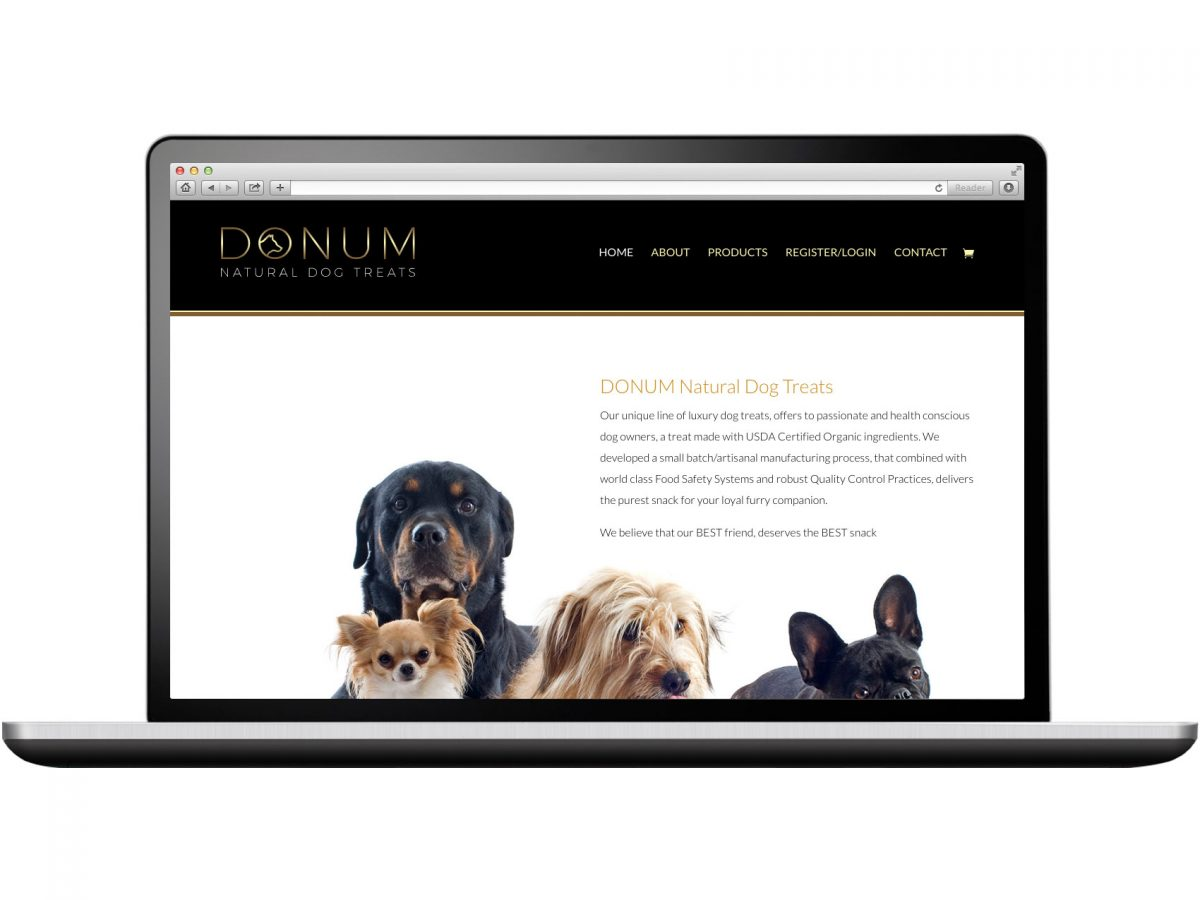 DONUM Natural Dog Treats