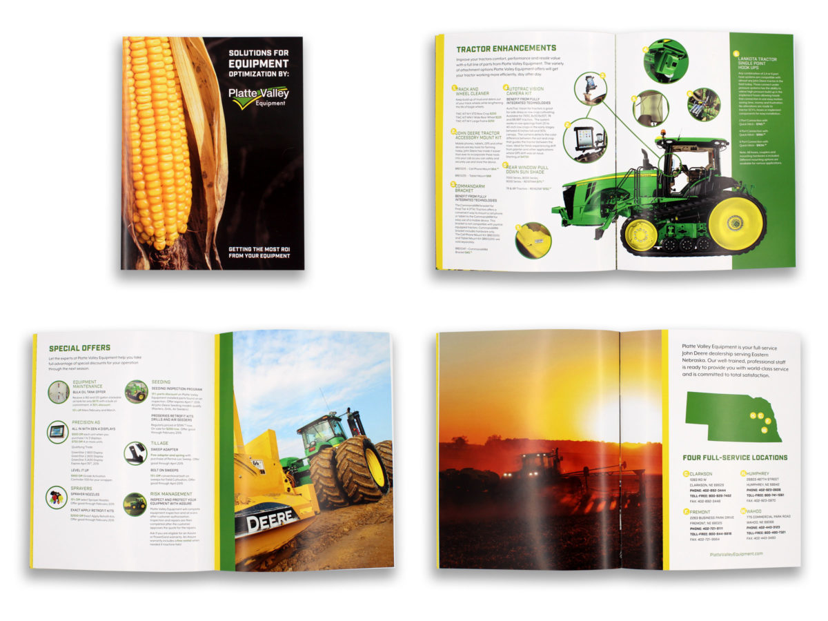 Platte Valley Equipment Parts Brochure