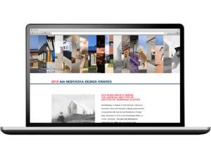 2019 AIA Nebraska Design Awards Website