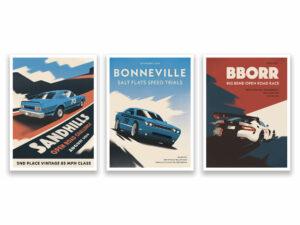 B5 Racing Commemorative Posters